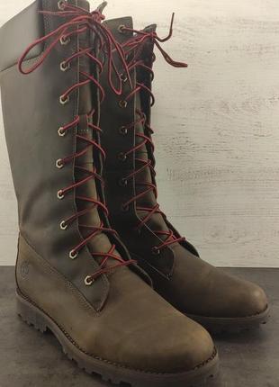 Ботинки timberland asphltrail tall chelsea. кожа, демисезонные. размер 39