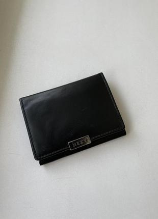 Кожаный кошелёк next
