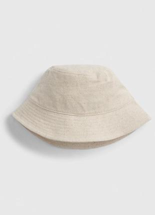 Панама плотная 🌿 натуральная ткань лён хлопок шапка шляпа gap унисекс