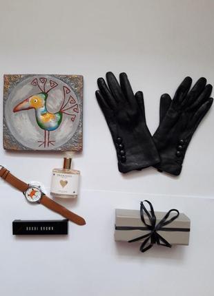 Елегантні шкіряні рукавиці , перчатки