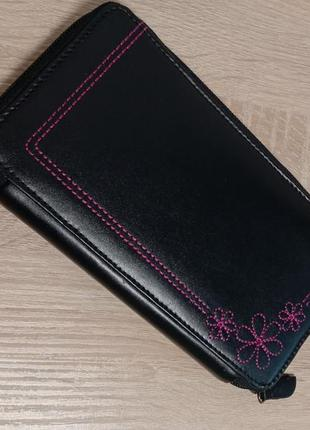 Женский кошелек под ровную купюру