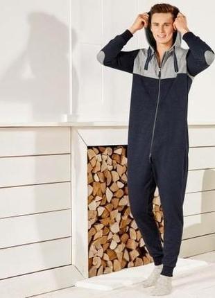Домашний теплый мужской комбенизон кигуруми livergy