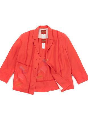 Kenzo jungle женский винтажный костюм пиджак жакет майка футболка