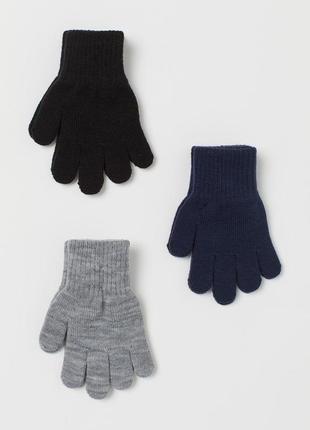 Перчатки рукавицы h&m