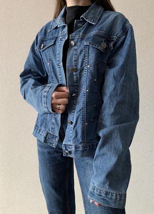 Оверсайз джинсовка
