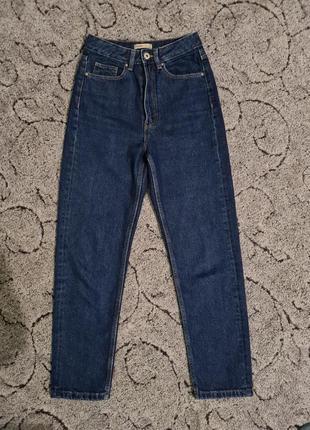Джинсы, джинси мом, момы высокая посадка