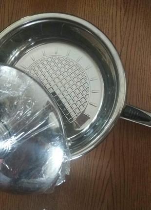 Новая сковорода для тушения