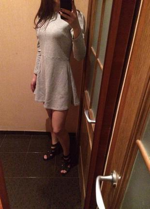 Теплое платье zara( как раз на такое лето=)