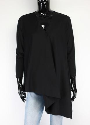 Асимертичная блузка туника в стиле massimo dutti sandro max mara