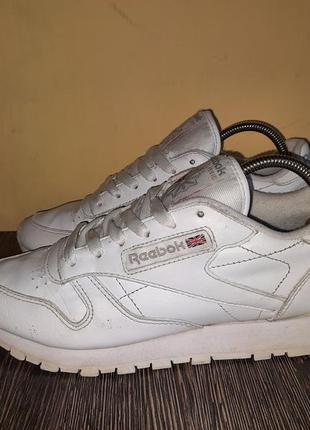 Оригинал кожаные кроссовки reebok classic leather
