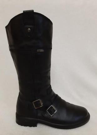 Теплые кожаные сапоги фирмы elefanten tex ( германия) р.36 стелька 23 см