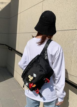Сумка adidas mickey black