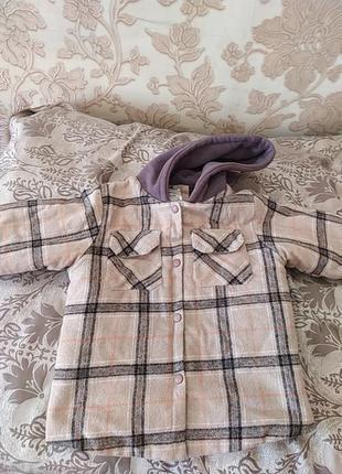 Пальто для хлопчика 6-7 рочків