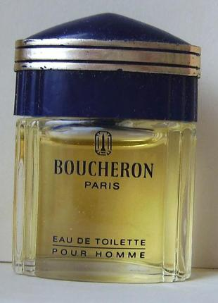 Boucheron pour homme - edt - 5 мл.орігінал. вінтаж.