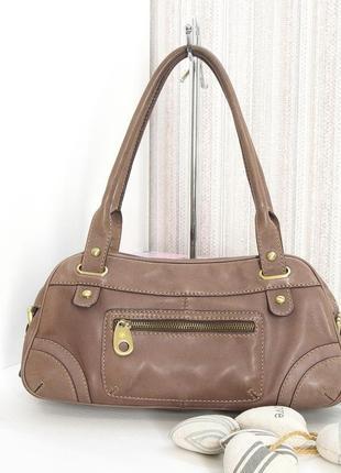 Кожаная сумка, ri2k, натуральная кожа.