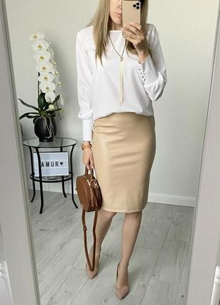 Костюм блуза+юбка супер цена💣💣💣