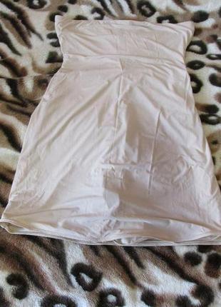 Шорты юбка высокие под грудь утягивающие спандекс