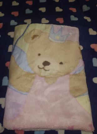 Одеяло покрывало плед для девочки малышки