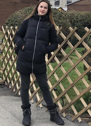 Зимний пуховик adidas