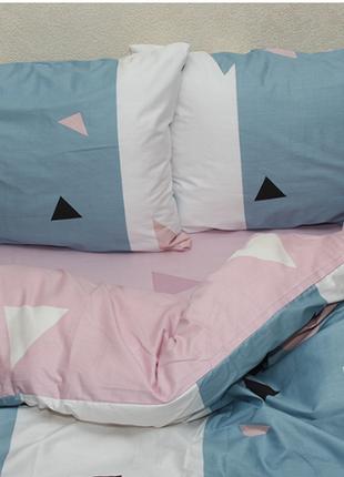 Двуспальный комплект сатинового постельного белья