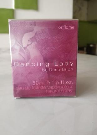 Dancing lady by dima bilan oriflame  туалетная вода от орифлейм