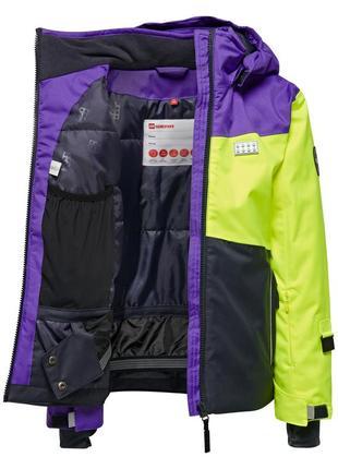 Зимняя детская лыжная куртка мембранная курточка на девочку legowear р.104-110 reima lenne