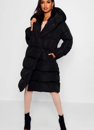 Пальто-дувет удлиненное boohoo