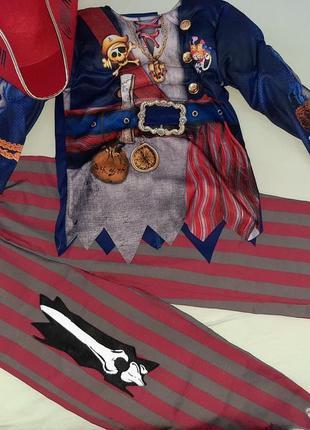 Карнавальный костюм пирата 5-6 лет с мышцами.