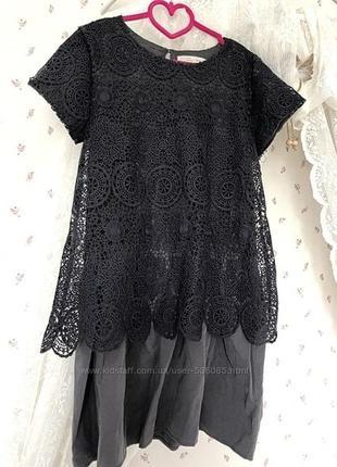 Очень красивое платье на 143-152 см, zara girls