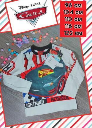 Красочный реглан для мальчика disney pixar cars,  разные размеры