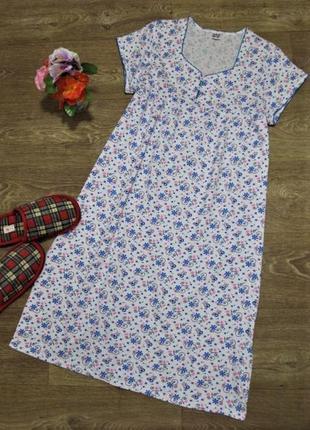 Ночная сорочка/ночнушка fazo-r 100% cotton р.46/48 узбекистан