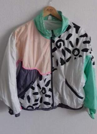 Винтажная куртка (бомбер, ветровка)