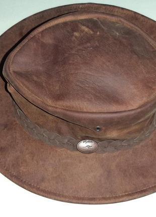 Ковбойская шляпа rydale australia кожа