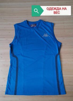 Kappa спортивная футболка безрукавка - l