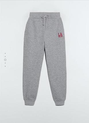 Тёплые штаны на флисе zara