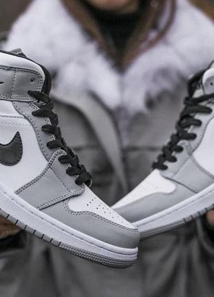 Мужские кроссовки nike air jordan 1 high8 фото