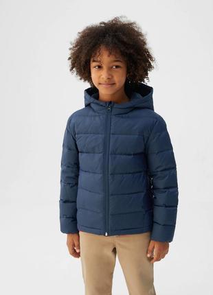 Легкая куртка на пуху mango