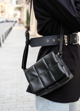 Женская сумка «дина» черная