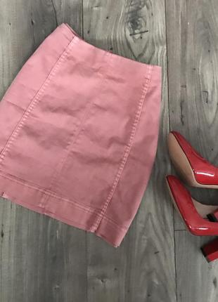 Стильная красивая джинсовая юбка
