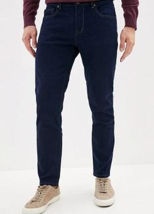 Мужские зауженные джинсы скинни denim co, m  размер.