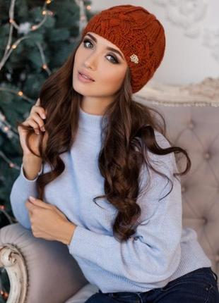 Зимняя шапочка на флисе. распродажа.