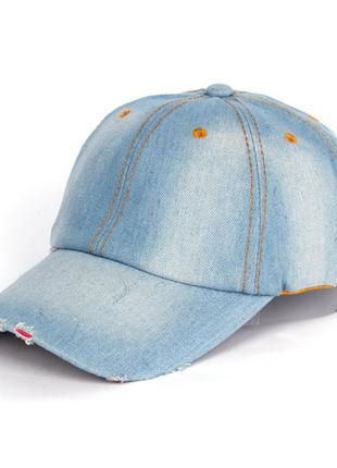 13-193 джинсова бейсболка модная кепка
