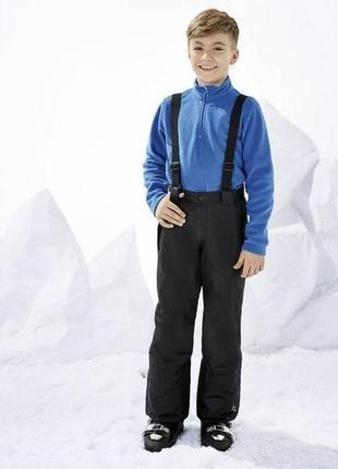 Новые лыжные штаны, зимние штаны, полукомбинезон, термо134,140 crivit германия