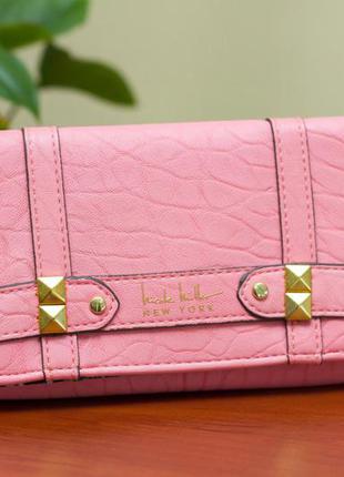 Многофункциональный кошелёк с кнопкой и молнией