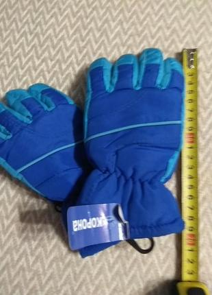 Лыжные перчатки дутики,
