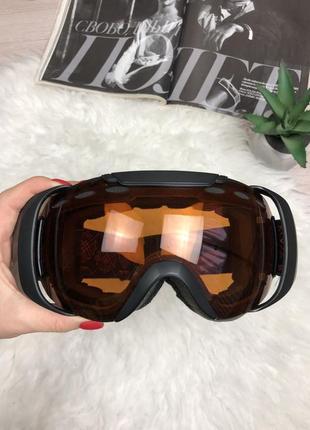 Фирменная горнолыжная маска очки f 2