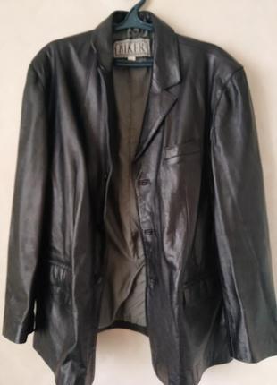 Кожаный пиджак / жакет / biker