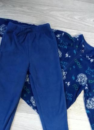 Тёплый спортивный костюм флис флисовый теплий спортивний костюм lupilu, 110-116
