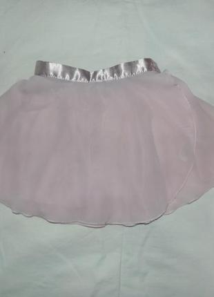 Шифоновая юбка для танцев на 3 года