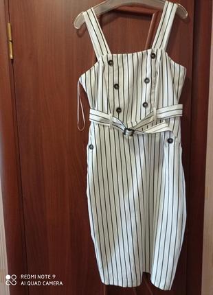 Платье/ платье в полоску